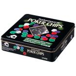 "Pokerset ""Full House"" in Box aus Metall Produktbild"