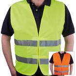 Warnweste - LARGE und EXTRA LARGE - 2 Farben - neutral Produktbild