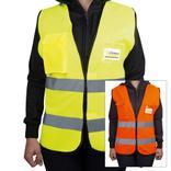 Warnweste - mit Brusttasche, neutral Produktbild