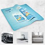 Universal-Microfasertuch - großes Tuch, große Werbung Produktbild