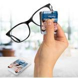 PocketCleaner® - genialer Brillen- und Displayreiniger - rutschfest Produktbild