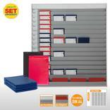 Plantafel-Set groß - mit Wechselleiste - für DIN A4 - für 75 Aufträge + 80 Taschen Produktbild