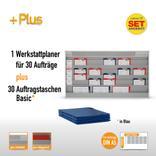 Plantafel-Set mit Zeitstrahl für DIN A5 (30 Aufträge + 30 Taschen) Produktbild