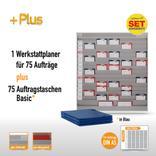 Plantafel-Set - mit Zeitstrahl - für DIN A5 - 75 Aufträge + 80 Taschen Produktbild