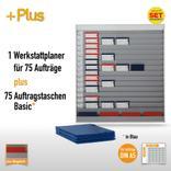 Plantafel-Set für DIN A5 (75 Aufträge + 80 Taschen) Produktbild