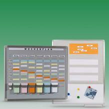 Einsteck- und T-Card Systemtafeln