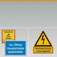 Elektro-Schutzkennzeichnung