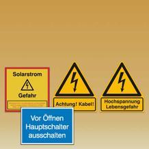Elektro-Kennzeichnung