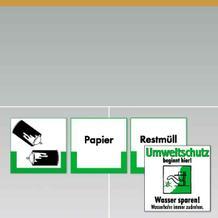 Entsorgungs-Kennzeichnung