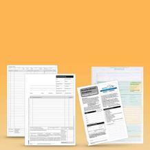 Formulare für die Auftragsorganisation