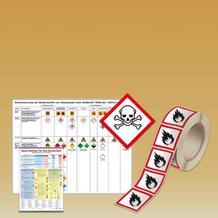 Gefahrstoff-kennzeichnung