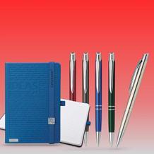 Kugelschreiber  Bleistifte  Notizbücher