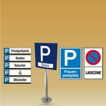 Parkplatz-Kennzeichnung