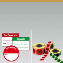 Qualitäts-Kennzeichnungsetiketten