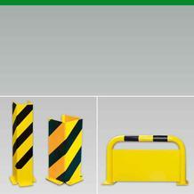 Prallschutz und Anfahrschutz