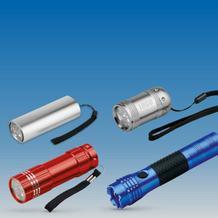 Stablampen und Taschenlampen