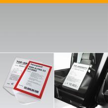Infohalter und Preisblatthalter