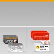 Adress-Etiketten Werbe-Etiketten