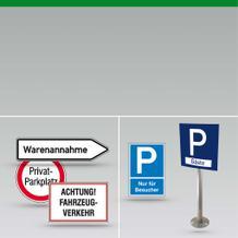 Wegekennzeichnung Hinweisschilder