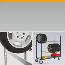 Reifentransport und Reifenlagerung