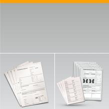 Rädereinlagerungs-Formulare