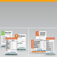 Service-Etiketten