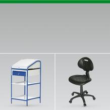 Stühle Stehpulte