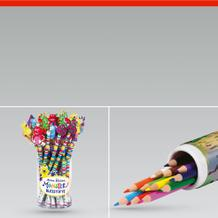 Bleistifte Malstifte und Bleistiftspitzer