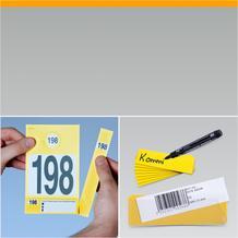 Kennzeichnungs und Preisetiketten
