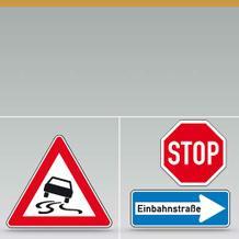 Verkehrszeichen nach StVO