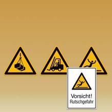 Warnzeichen Warnschilder