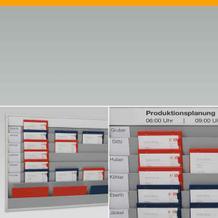 Werkstattplaner und Planungstafeln aus Kunststoff