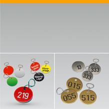 Zahlenmarken Kennzeichnungs- marken
