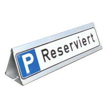 Parkplatzbegrenzung - Anfahrschutz - Dreieck für Parkplatzschilder - Aluminium