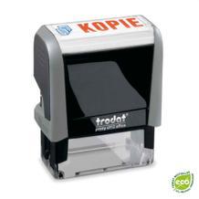 Trodat Printy Office Eco 4912  - 11 Standardtexte - 2-farbiges Kissen