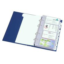 Visitenkartenhüllen - passend zu Visitenkartenbuch - PVC