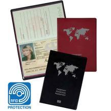 RFID-Schutzhülle - für EU-Reisepass - Schutz vor Datenmissbrauch