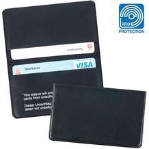 RFID-Schutzhülle - für 2 Kredit- und Scheckkarten - Schutz vor Datenmissbrauch