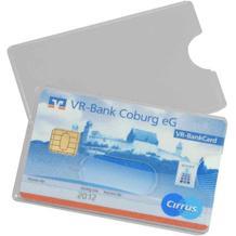 Schutzhülle - für Kredit- und Scheckkarten - Weichfolie - Schutz vor Datenmissbrauch