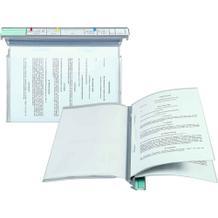 Personalhefter Typ 1 - VISIMAP - Termin-Kopfleiste / Klarsicht-Bogenschnitt-Tasche