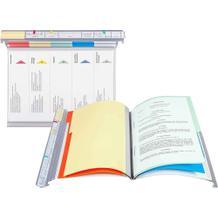 Personalhefter Typ 2 - VISIMAP - 2 Kopf-Leisten - 5-teiliges Register - Heftmechanik