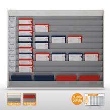 Planungstafel groß (50 x DIN A4) mit individueller Beschriftungsmöglichkeit