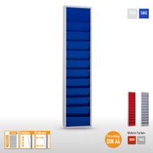 """Plantafel """"Color"""" aus Stahlblech für bis zu 10 x DIN A4 Aufträge"""