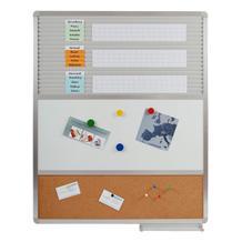 Mehrzwecktafel mit 3 Oberflächen in einer Tafel