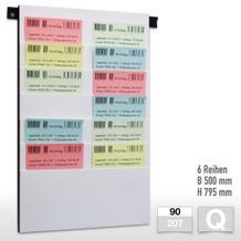 Flexiplan-Beleg-Planungstafeln für Belege DIN A3 quer