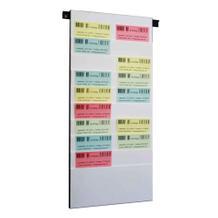 Flexiplan-Beleg-Planungstafel - für Belege DIN A3 quer / DIN A4 hoch - 500 x 1085 mm
