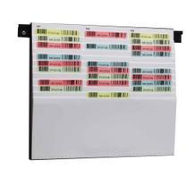 Flexiplan-Beleg-Planungstafel - für Belege DIN A4 quer / DIN A5 hoch - 500 x 440 mm