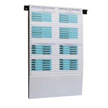 Flexiplan-Beleg-Planungstafel - für Belege DIN A4 quer / DIN A5 hoch - 500 x 795 mm