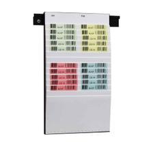 Flexiplan-Beleg-Planungstafel - für Belege DIN A5 quer / DIN A6 hoch - 250 x 440 mm