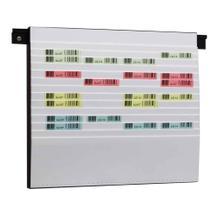 Flexiplan-Beleg-Planungstafel - für Belege DIN A5 quer / DIN A6 hoch - 500 x 440 mm